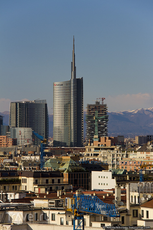 На главном чердаке Милана / Италия