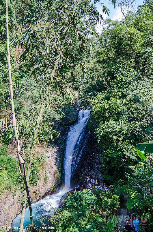 Водопад Gitgit на Бали, Индонезия / Фото из Индонезии