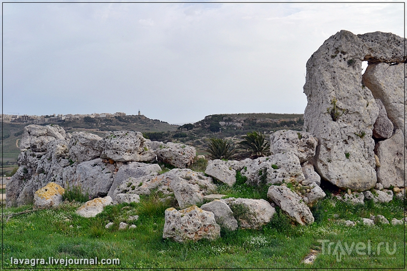 Храмы и могильники древней Мальты / Мальта