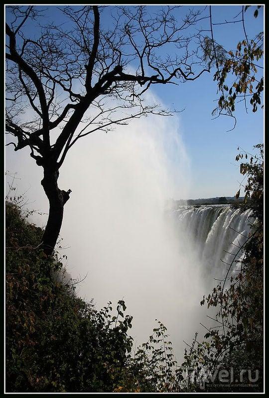 Один крейзи день между Зимбабве и Замбией / Зимбабве
