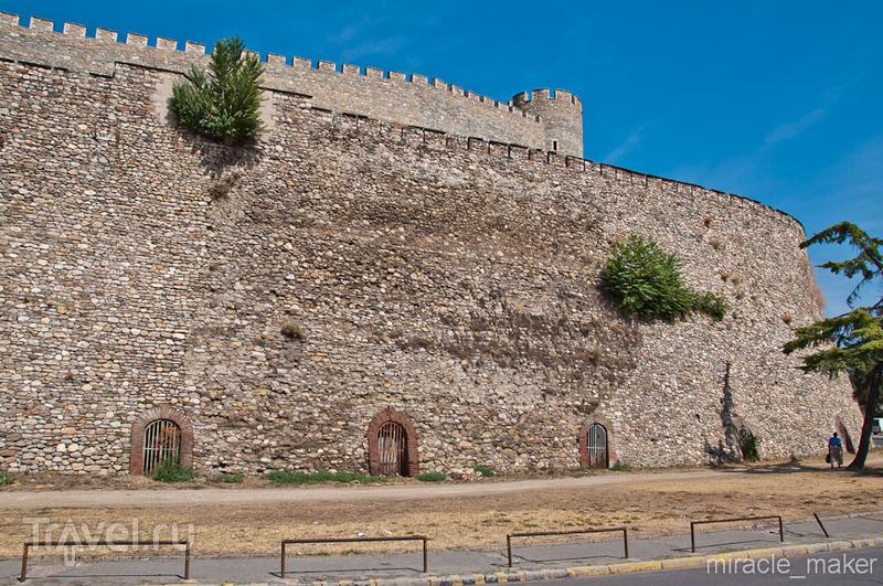 Крепость Скопско-кале в Скопье, Македония / Фото из Македонии