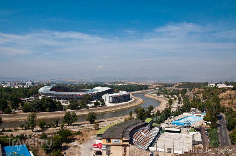 Стадион Филиппа II Македонского в Скопье, Македония / Фото из Македонии