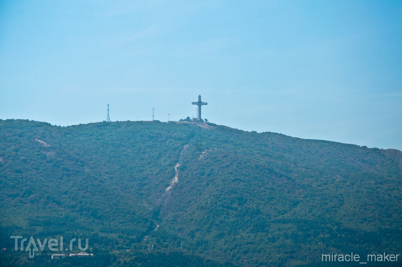 Гора Водно в Скопье, Македония / Фото из Македонии