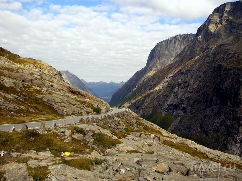 Строительство дороги Trollstigen продолжалось в течение восьми лет, Норвегия / Норвегия