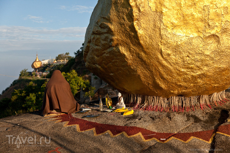 Чайтхо. Холодная ночевка у Золотого Камня / Фото из Мьянмы