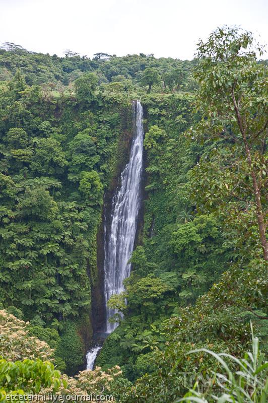 Водопад Папапапаитаи, Западное Самоа / Фото с Западного Самоа