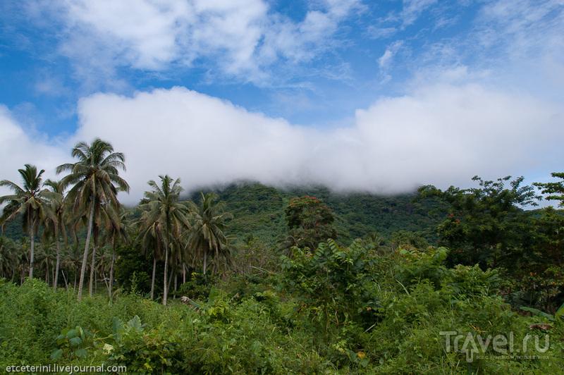 Уполу. Остров церквей и водопадов / Фото с Западного Самоа