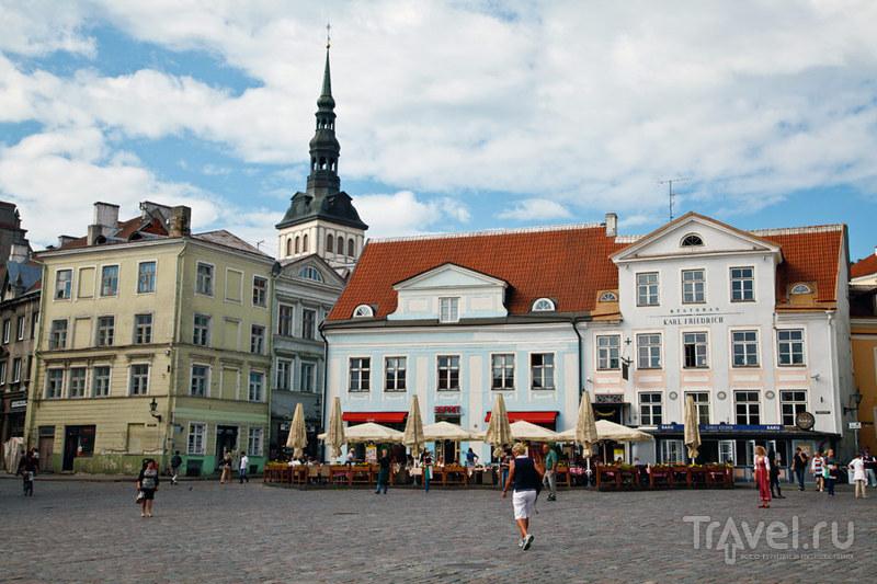 Ратушная площадь в Таллине, Эстония / Фото из Эстонии