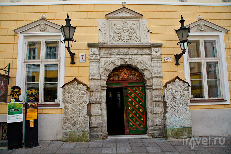 Дом Черноголовых в Таллине, Эстония / Фото из Эстонии