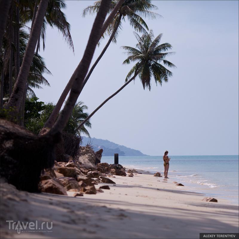 На пляже Натон, Самуи / Фото из Таиланда