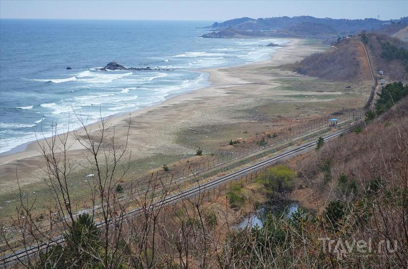 Граница между Южной Кореей и КНДР