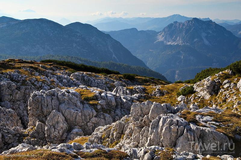 На известняковом плато Дахштайн в австрийских Альпах / Фото из Австрии