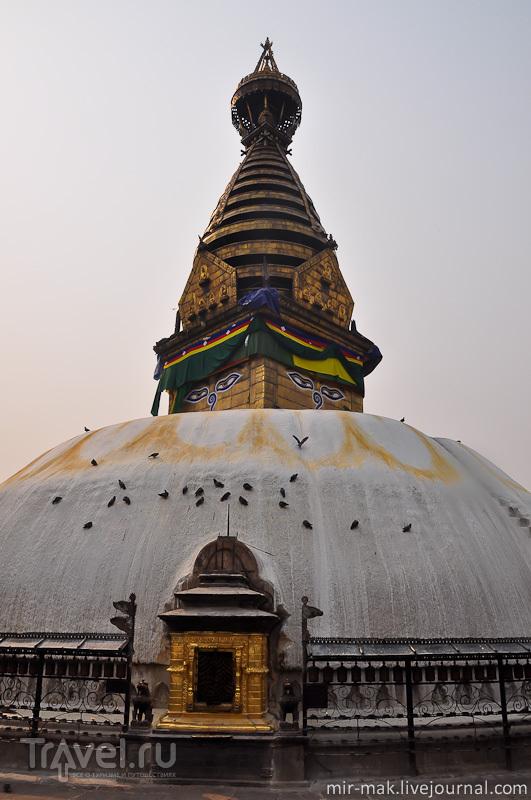 Сваямбунатх в Катманду, Непал / Фото из Непала