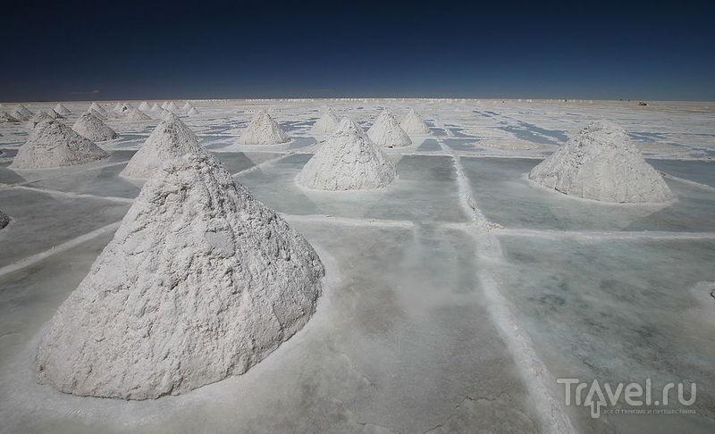 Salar De Uyuni (солончак Уюни, Боливия) / Фото из Боливии