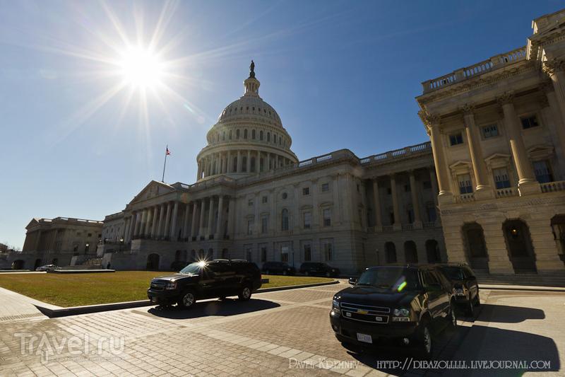 В городе Вашингтон, США / Фото из США