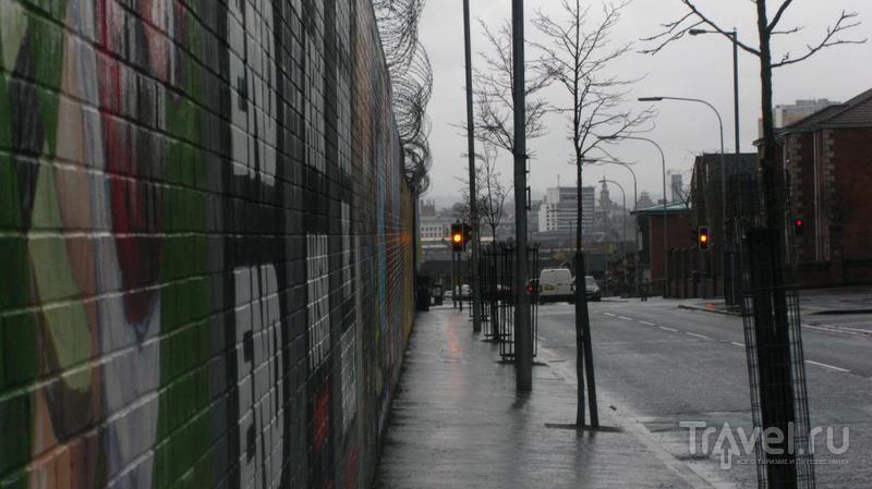 """Очень """"опасный"""" город Белфаст / Великобритания"""