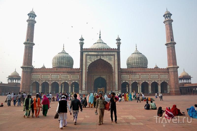 Соборная мечеть, Дели / Фото из Индии