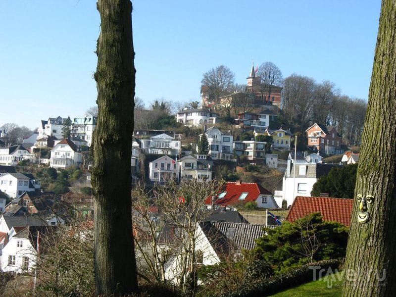 Бланкенезе - приятный поселок на окраине Гамбурга / Германия