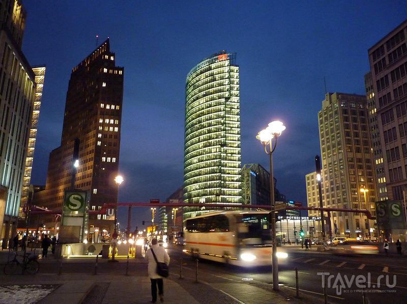 Потсдамская площадь, Берлин / Фото из Германии