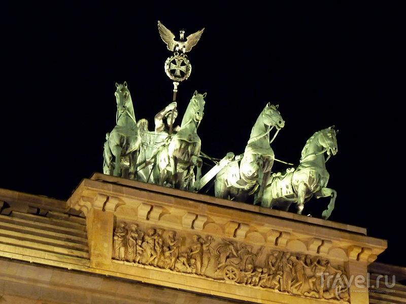 Бранденбургские ворота, Берлин / Фото из Германии