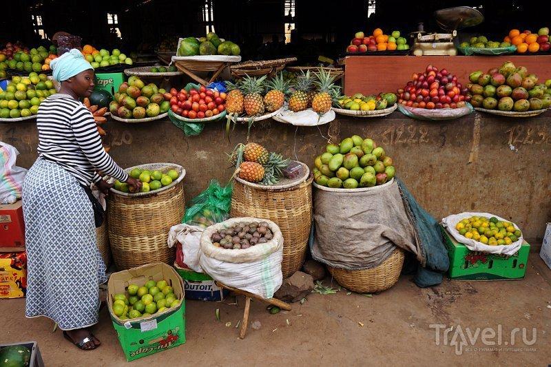 Базар Кимиронко, Руанда / Фото из Руанды