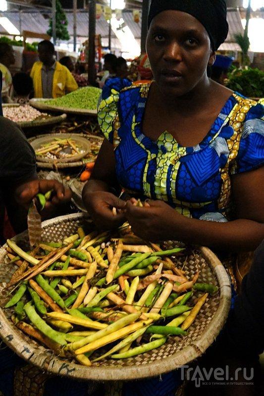Базар Кимиронко / Фото из Руанды