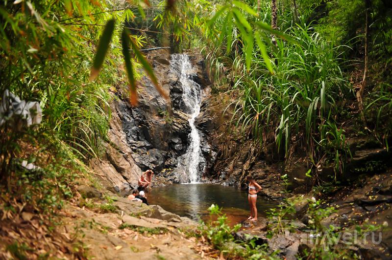 Водопад Nagkalit Kalit на Эль-Нидо, Филиппины / Фото с Филиппин