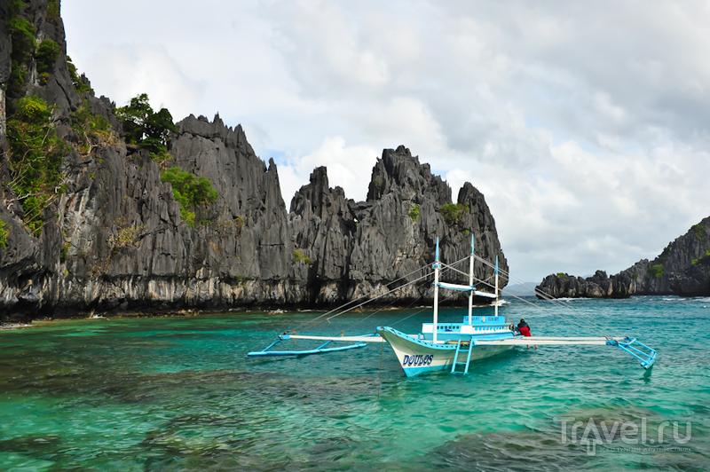 На стоянке в Small Lagoon, Филиппины / Фото с Филиппин