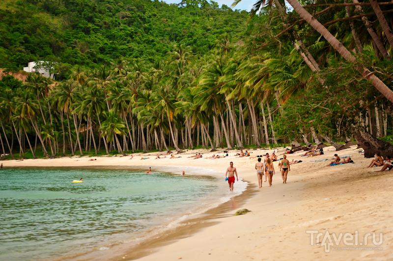 Las Сabanas beach на Эль-Нидо, Филиппины / Фото с Филиппин