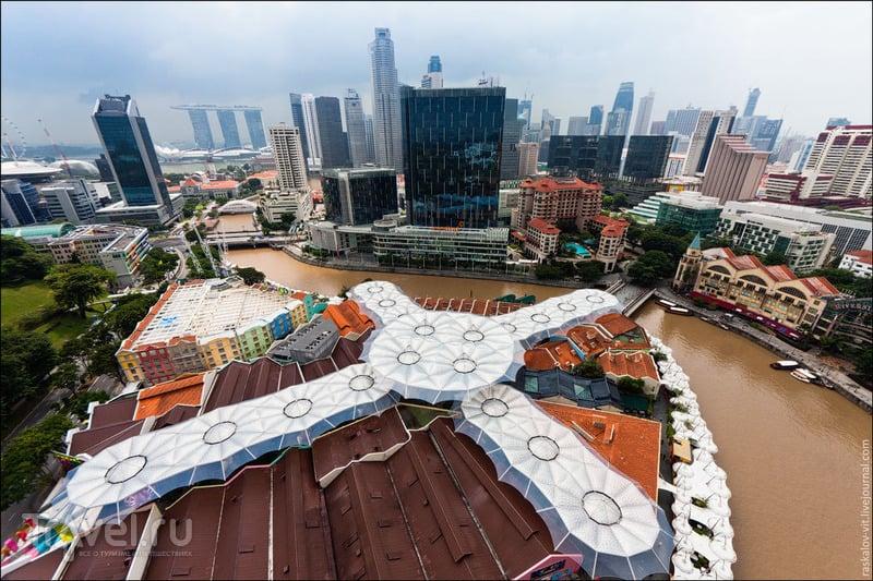 Boat Quay и Clarke Quay, Сингапур / Фото из Сингапура