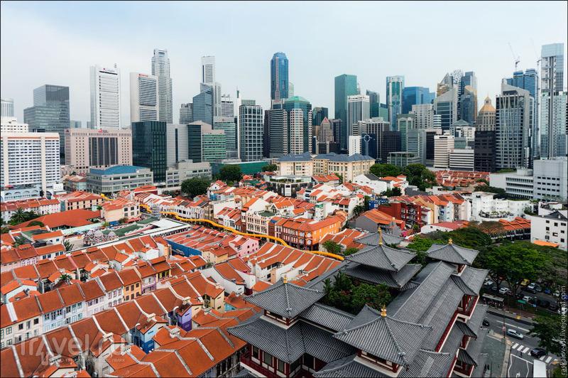 Китайский квартал и храм Священного Зуба Будды, Сингапур / Фото из Сингапура
