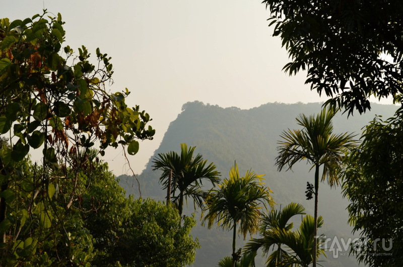 В Черапунджи, Индия / Фото из Индии