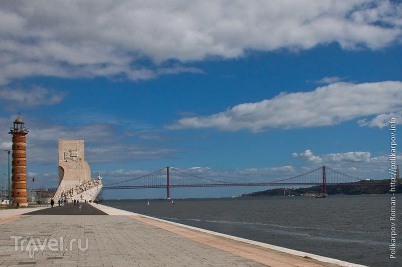 Мост 25 Апреля в Лиссабоне, Португалия / Фото из Португалии