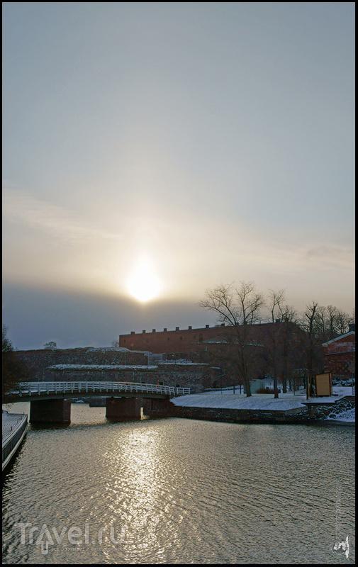 Из Свеаборга в Суоменлинну / Фото из Финляндии