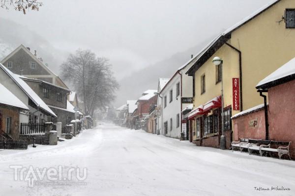 Зимняя сказка в Карлштейне / Чехия