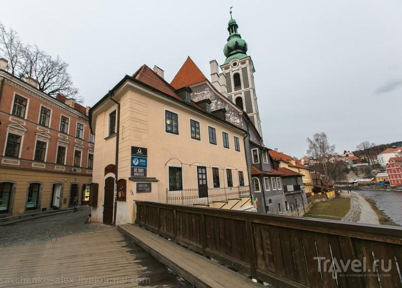 В городе Чески-Крумлов, Чехия / Фото из Чехии