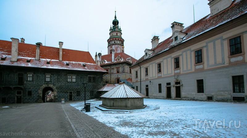 Монастырь Золотая Корона в Чески-Крумлов, Чехия / Фото из Чехии