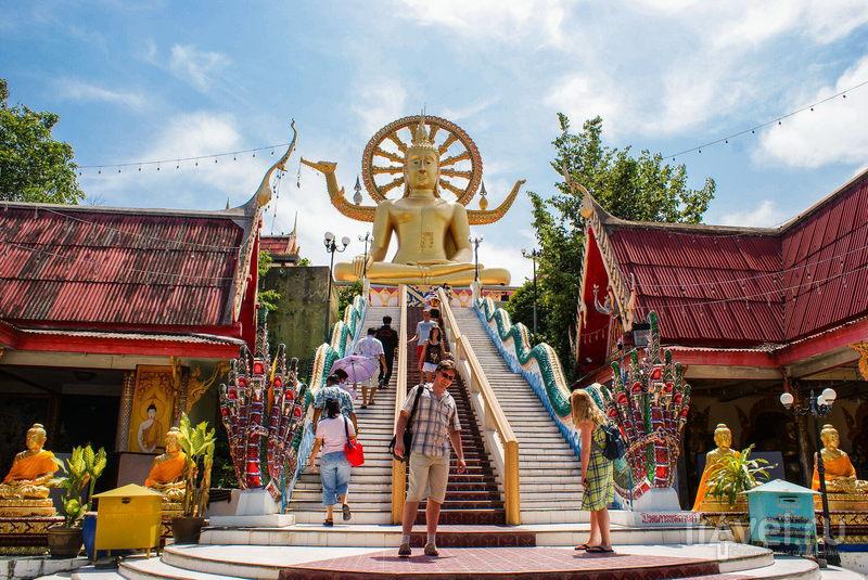 Храм Wat Phra Yai на острове Самуи, Таиланд / Фото из Таиланда