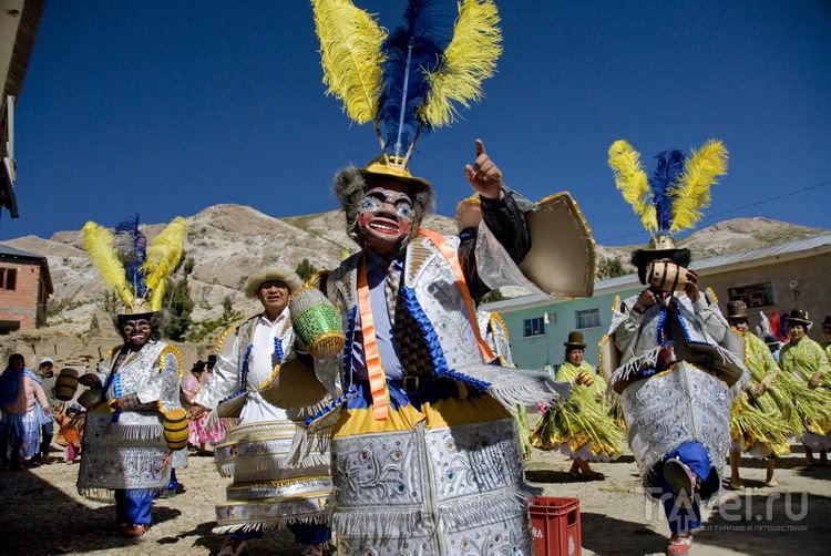Солнечный Остров под моренадой / Боливия