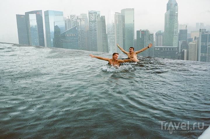 Отельное чудо света в Сингапуре / Сингапур
