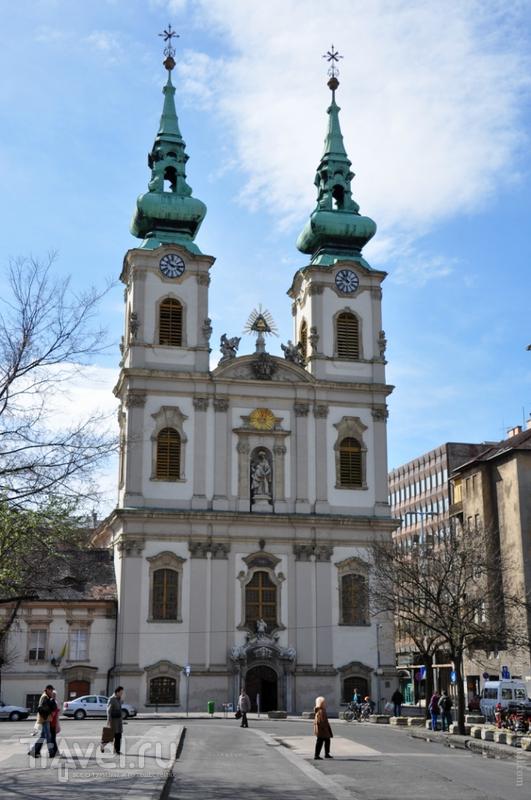 Церковь святой Анны в Будапеште, Венгрия / Фото из Венгрии