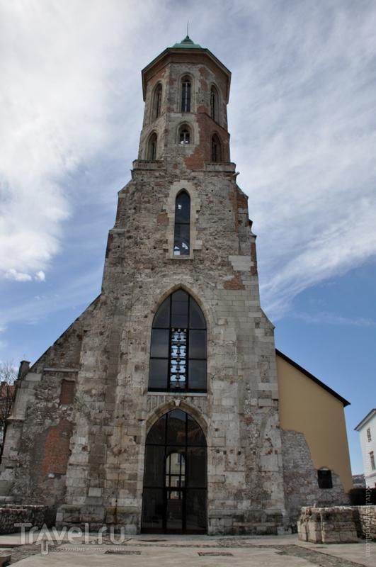 Разрушенная церковь Марии Магдалины в Будапеште, Венгрия / Фото из Венгрии