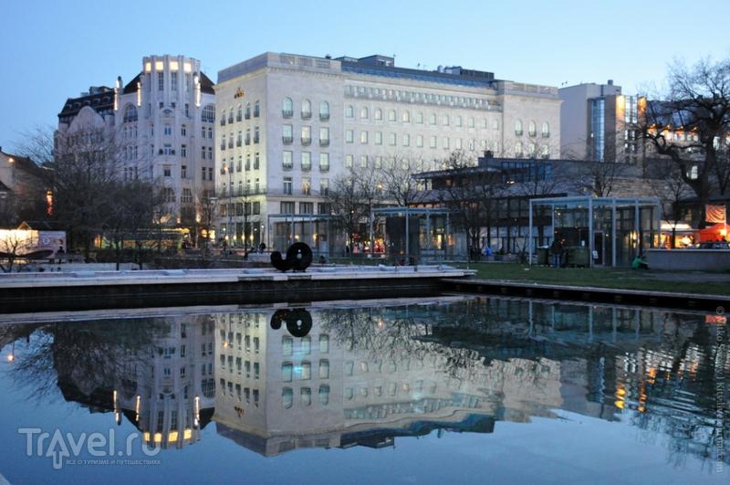 Отель Le Meridien Budapest в Будапеште, Венгрия / Фото из Венгрии