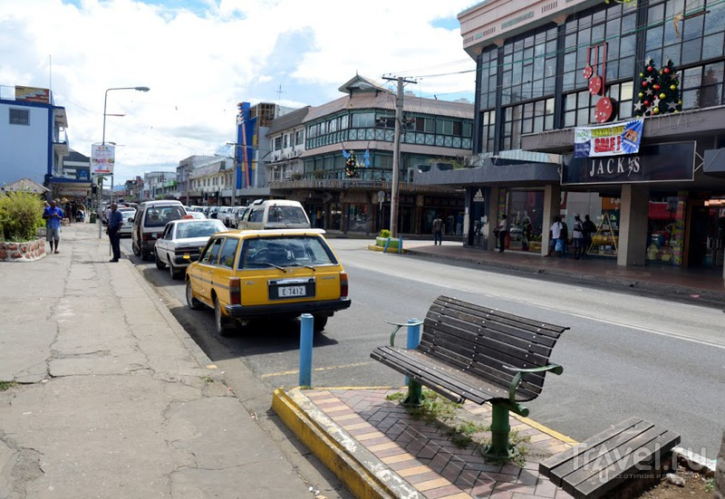 В городе Нанди, Фиджи / Фото с Фиджи