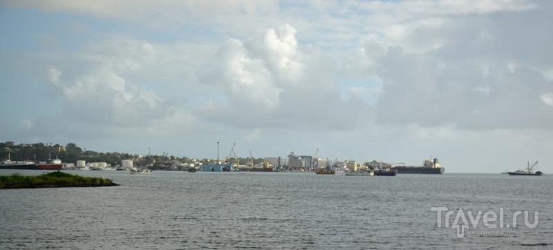 Фиджи - полуголый архипелаг. Города и пригороды / Фото с Фиджи