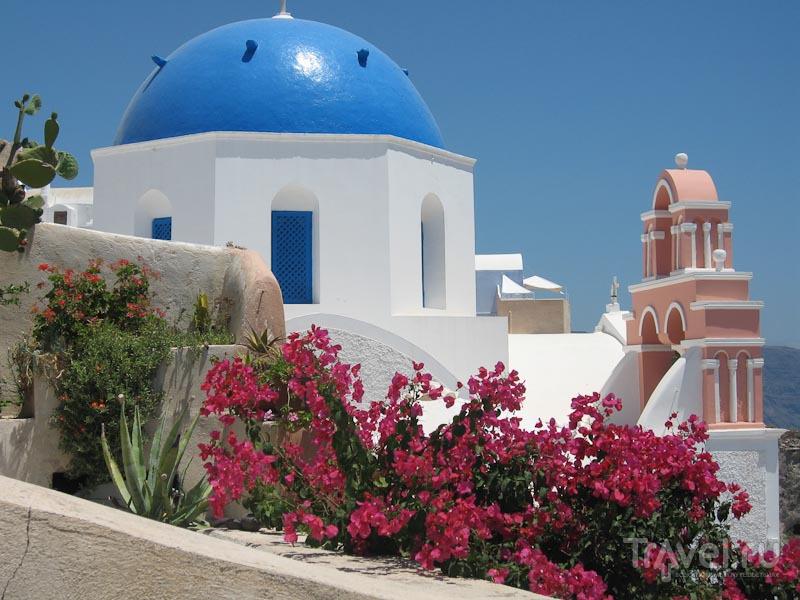 Как приятно и экономно провести время на Санторини / Греция