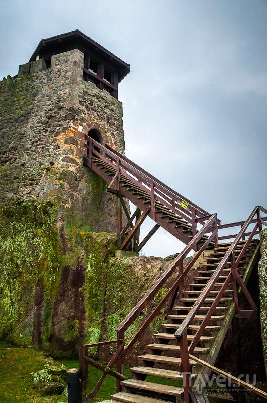 Руины Вышеградского замка, Венгрия / Фото из Венгрии