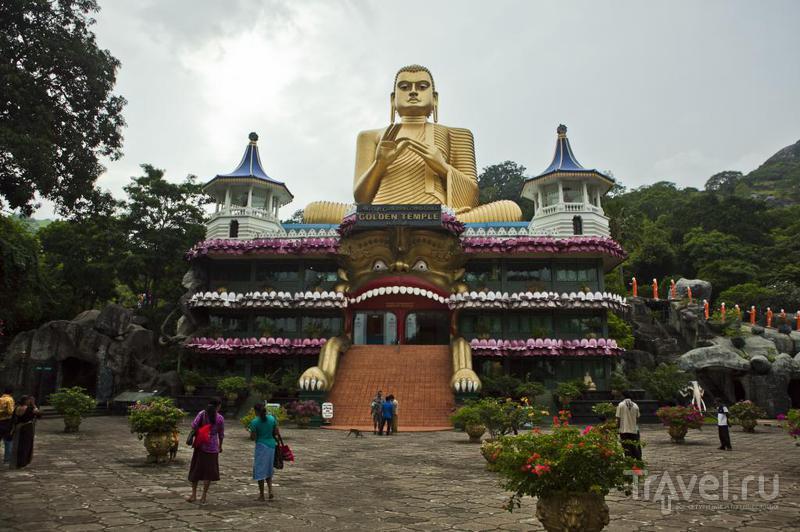 Храм в Дамбулле, Шри-Ланка / Фото со Шри-Ланки