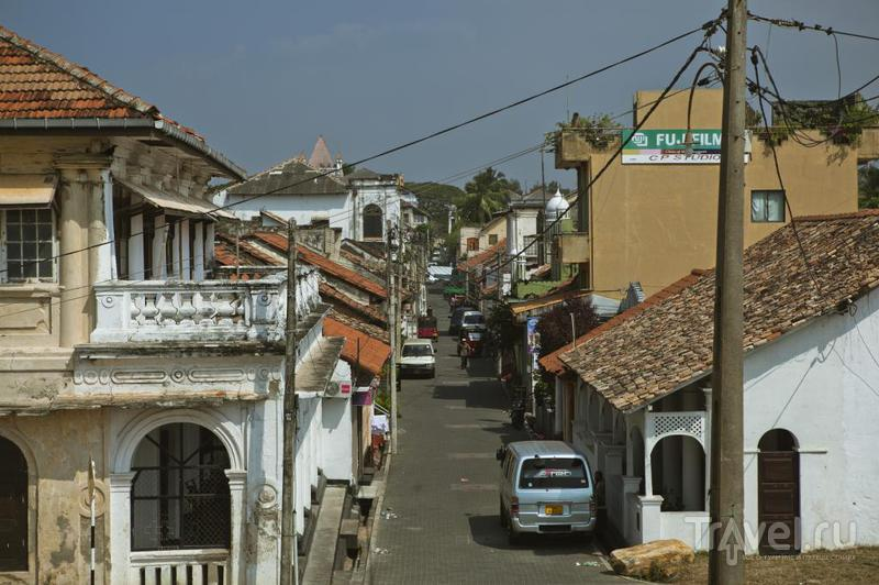 На улице в Галле, Шри-Ланка / Фото со Шри-Ланки