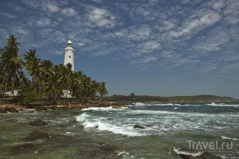 Маяк Дондра, Шри-Ланка / Фото со Шри-Ланки